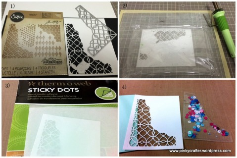 step by step tutorial crate paper You are my Fave shaker card