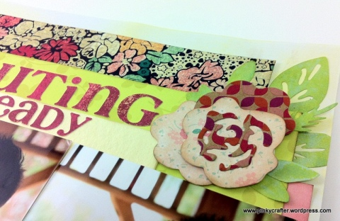crate paper Pouting Already Scrapbook Layout