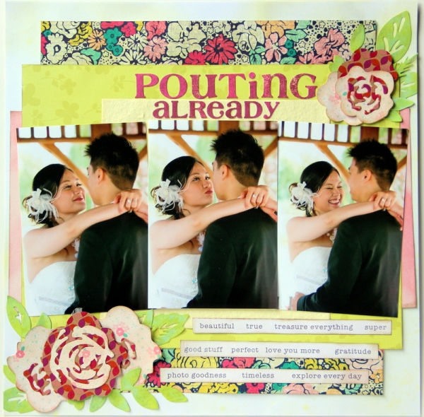 Poutin already Scrapbook layout