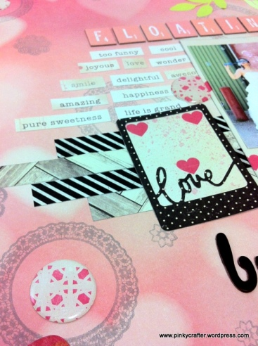 crate paper wedding scrapbook layout