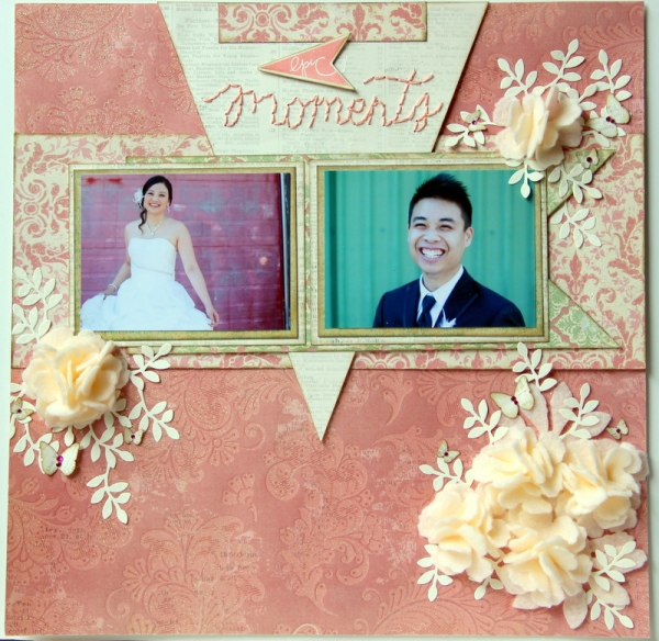 Epic Moments Scrapbook layout :CKC #1