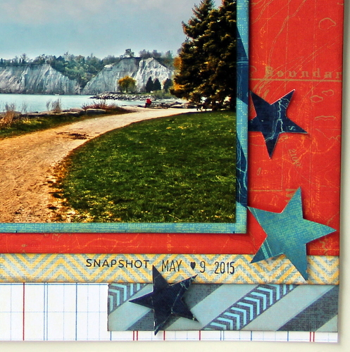 Crazy Good Day Scrapbook Layout
