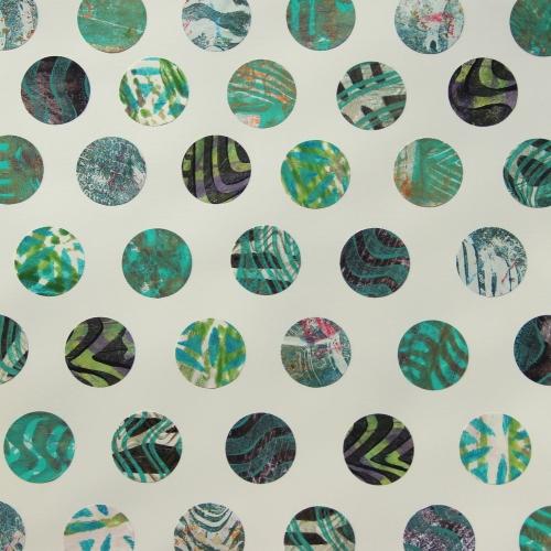 Gelli print DIY patterned paper