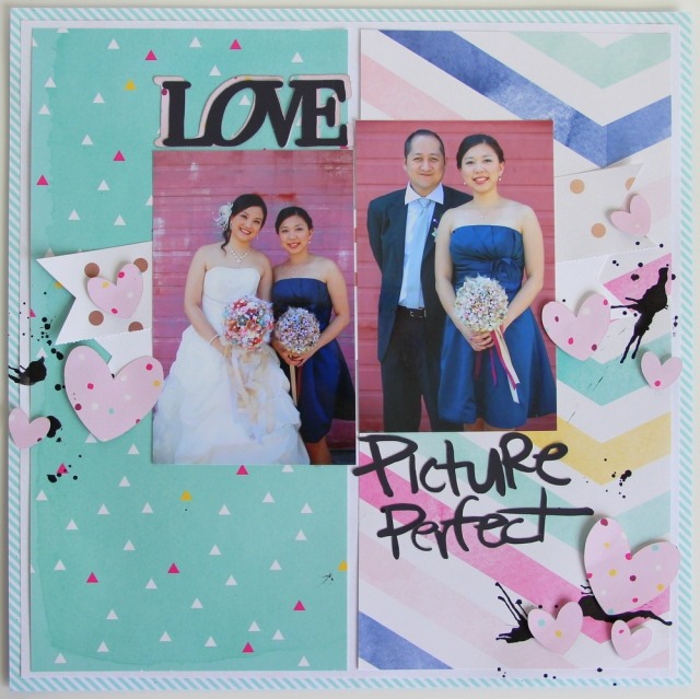 Picture Perfect Scrapbook Layout
