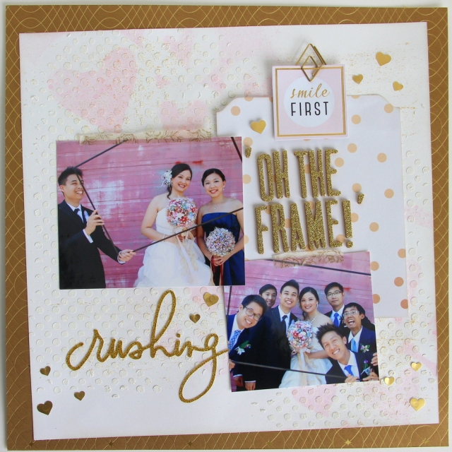 Crushing - Smile Gold Wedding layout