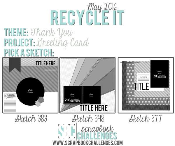 Card Recycle It May 18th