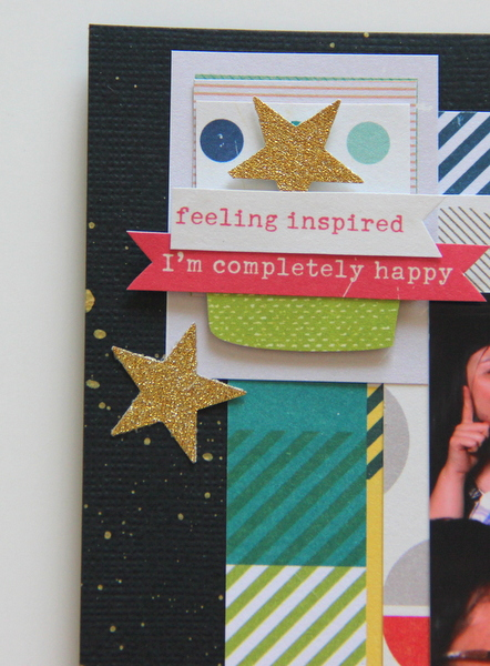 Scrapping photobooth picture scrapbook layout
