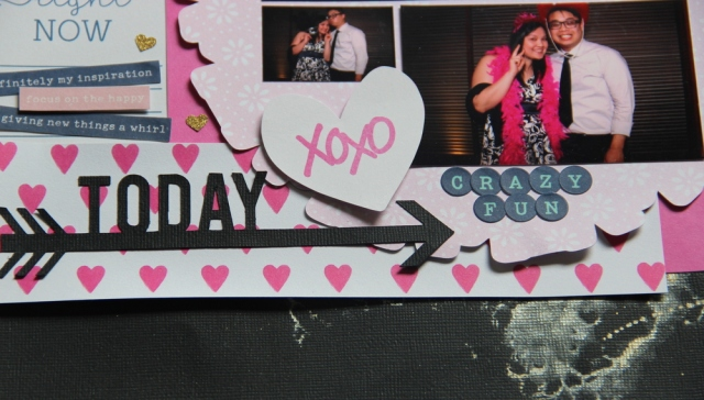 Crazy Fun Photobooth Scrapbook layout