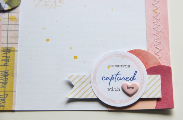 pinkfresh studio diecuts and shimelle puffy stickers