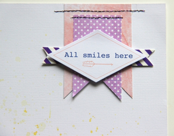 all smiles here (pinkfresh studio indigo hills) with stitching