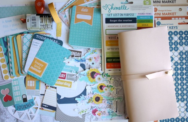 DIY Traveler Notebook Kit