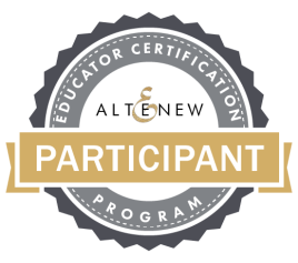 Altenew Educator Certification Program Badge
