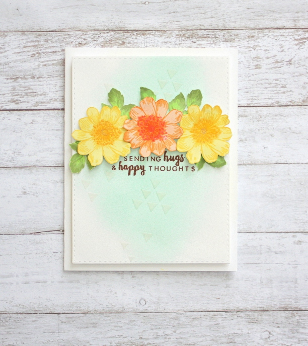 Encouragement card - altenew garden treasure & beautiful day stamp set
